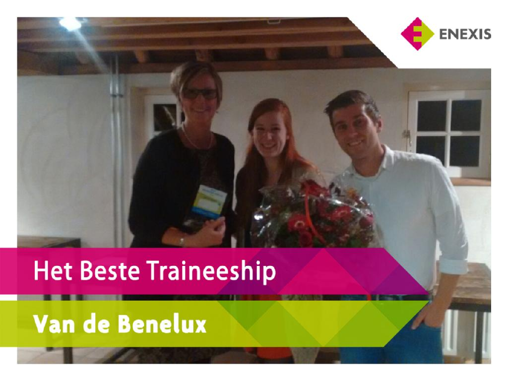 Enexis beste management traineeship van de benelux in 2015